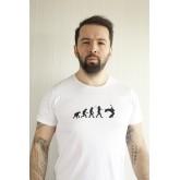 Gitaristin Evrimi Tişört