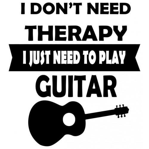 Gitarist Terapisi Tişört