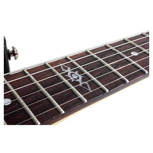 Schecter C-1 SGR Solak Elektro Gitar (Siyah)
