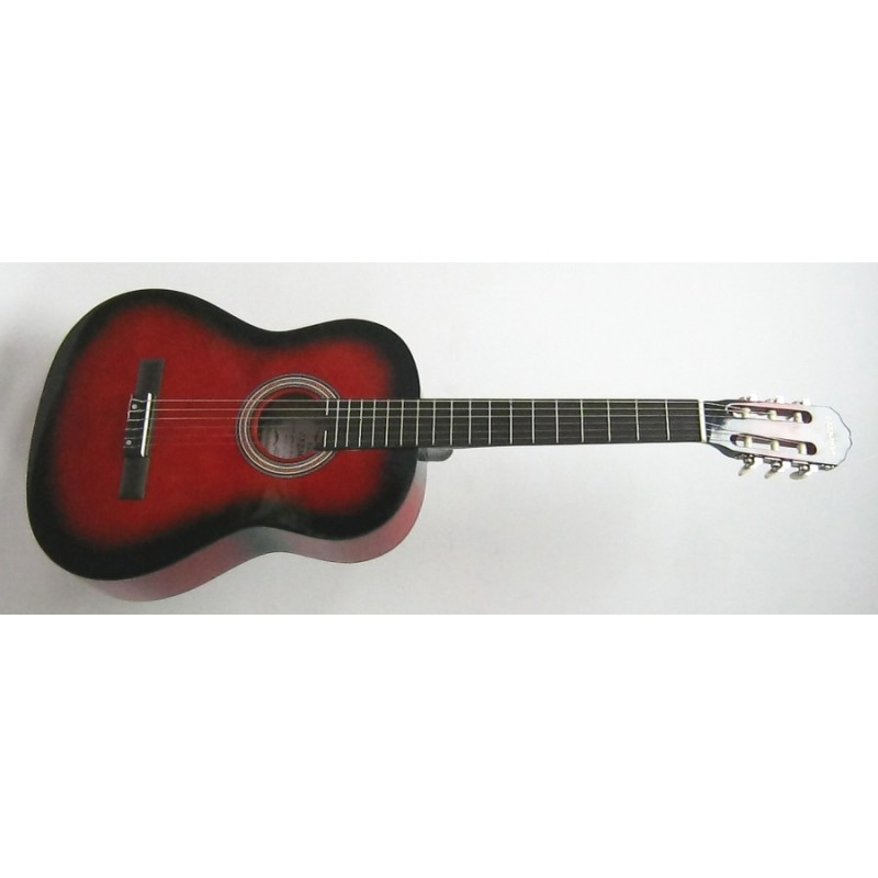 CREMONIA AC821R-RB Klasik Gitar Kırmızı 3/4 ( Kılıf ve Pena Hediyeli)