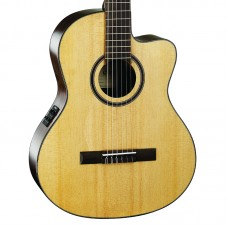 Cort AC160CFNAT Elektro Klasik Gitar