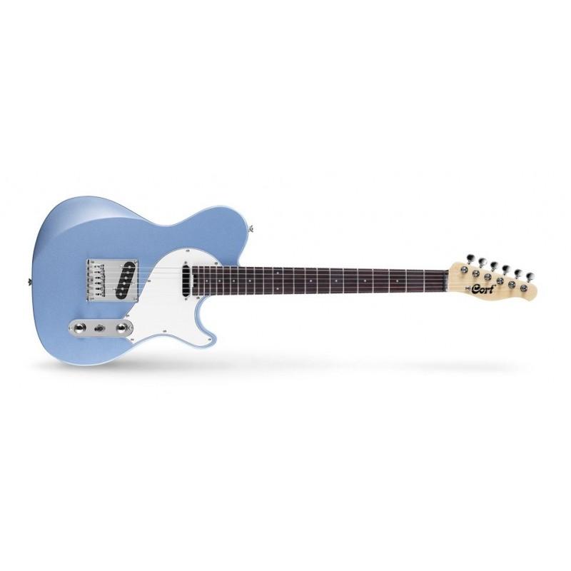 Cort Classic Tc Bim Elektro Gitar Metalik Mavi (Kılıf, Pena ve Jack Kablosu Hediyeli)