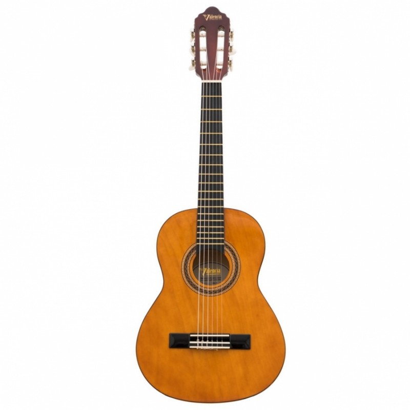 Valencia VC103T Klasik Gitar Sap Çelikli 3/4 Boy Kılıf ve Pena Hediyeli